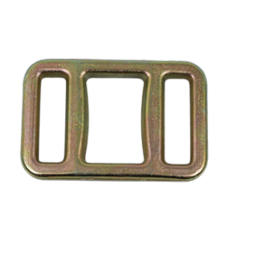 32mm wide drop forged buckle for effective woven lashing